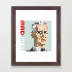 roger sterling Framed Art Print
