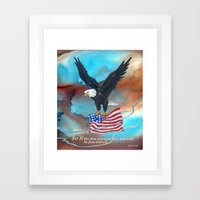 Free Indeed Framed Art Print