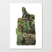 Cross Polination Canvas Print