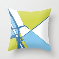 High Wire Throw Pillow