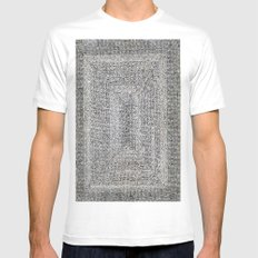 *  Azteka *  By: Matthew Crispell Mens Fitted Tee SMALL White