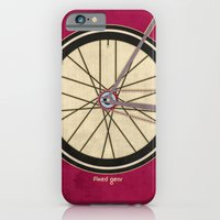 iPhone & iPod Case featuring Single Speed Bicycle by Wyatt Design