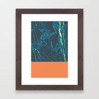 Marble Pablo Framed Art Print