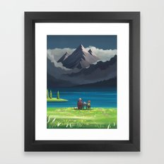 Howl's Moving Castle : Star Lake Framed Art Print