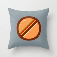 No Food Allowed Throw Pillow