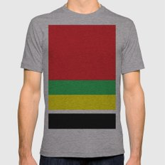 Marley bars Mens Fitted Tee Athletic Grey SMALL