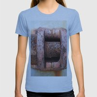 RUST Womens Fitted Tee Athletic Blue SMALL