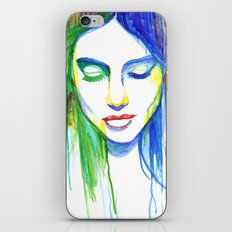 Sadness is a Blessing iPhone & iPod Skin
