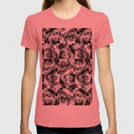 Roots Womens Fitted Tee Pomegranate SMALL