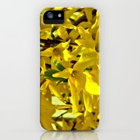 iPhone 5s & iPhone 5 Cases featuring Yellow Flowers 2 by J.N.B.