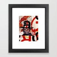 BELUTHAHATCHI Framed Art Print