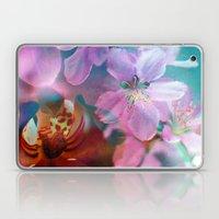 Double Flowers Laptop & iPad Skin