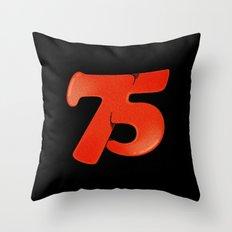 75 Throw Pillow
