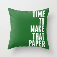 Make That Paper Throw Pillow