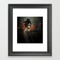 Dawn In Autumn Framed Art Print