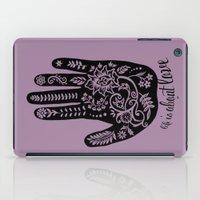 Life and Love iPad Case