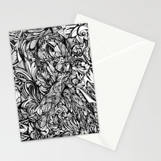 Conquer (Black & White Version)  Stationery Cards