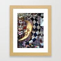 Masquerade4 Framed Art Print