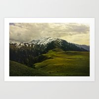 Spider Mountain Art Print