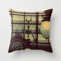 D'Orsay Museum, Paris Throw Pillow