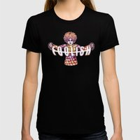 Jester Womens Fitted Tee Black SMALL