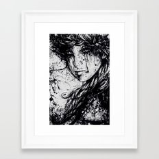 braid Framed Art Print
