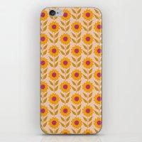 Retro bloom light 7 iPhone & iPod Skin