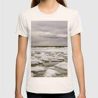 Ice water Womens Fitted Tee Natural SMALL