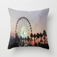 Coachella Throw Pillow