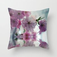 This is why I love spring ( Spring  Blossom) Throw Pillow