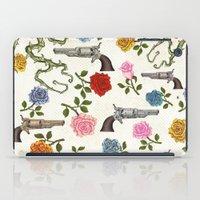Sweet Guns and Roses iPad Case