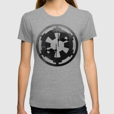 Star Wars Imperial Tie Fighters in Gray Womens Fitted Tee Tri-Grey SMALL