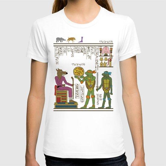 hero-glyphics: TMNT T-shirt
