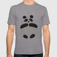 I'm just another Panda! Mens Fitted Tee Athletic Grey SMALL