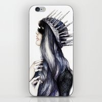 Ice Queen // Fashion Ill… iPhone & iPod Skin