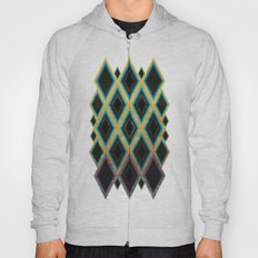 Diamond pattern Hoody