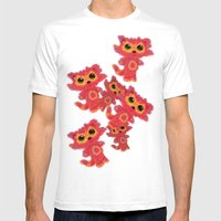 FRUMP Mens Fitted Tee White SMALL