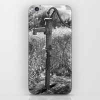 Water pump iPhone & iPod Skin