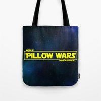 Pillow Wars Tote Bag