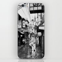 Pontocho in the Morning, Kyoto iPhone & iPod Skin