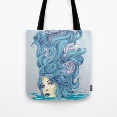 Ocean Queen Tote Bag