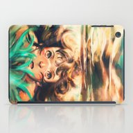 iPad Case featuring The River by Alice X. Zhang