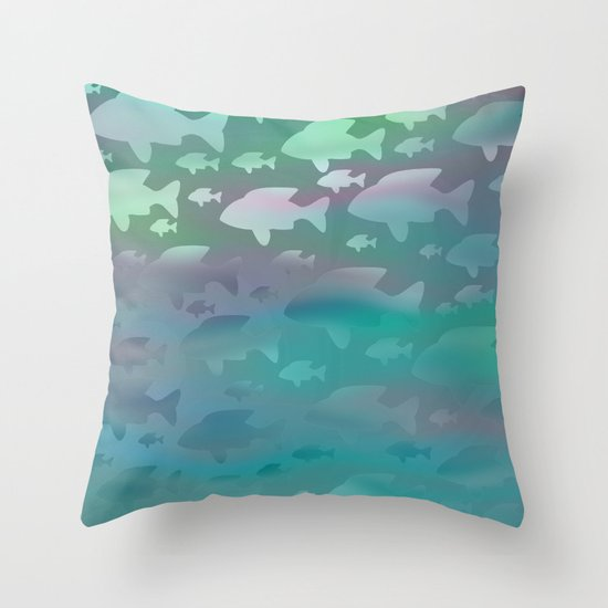 Pattern/Zodiac/Pisces/3 Throw Pillow