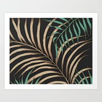 Tropic Nights Art Print