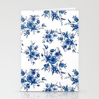 FOLK FLOWERS Stationery Cards