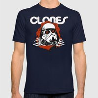 Clones Brigade Mens Fitted Tee Navy SMALL