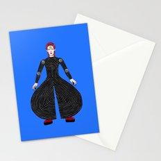 MOONAGE DAYDREAM (Blue) Stationery Cards