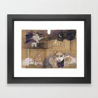 Son Bahar Framed Art Print