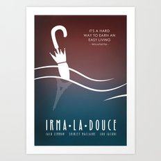 Irma la Douce Art Print