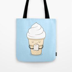 ice cream sandwich Tote Bag